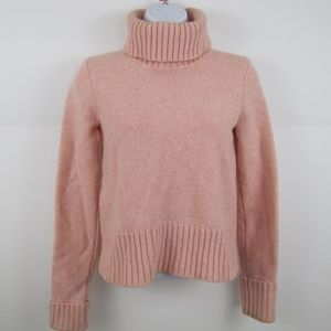 J CREW 100% Lambs Wool Turtleneck Sweater